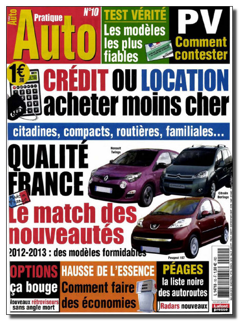 Pratique Auto N°10 - Mai-Juin 2012 [NEW/SsTags/RG]
