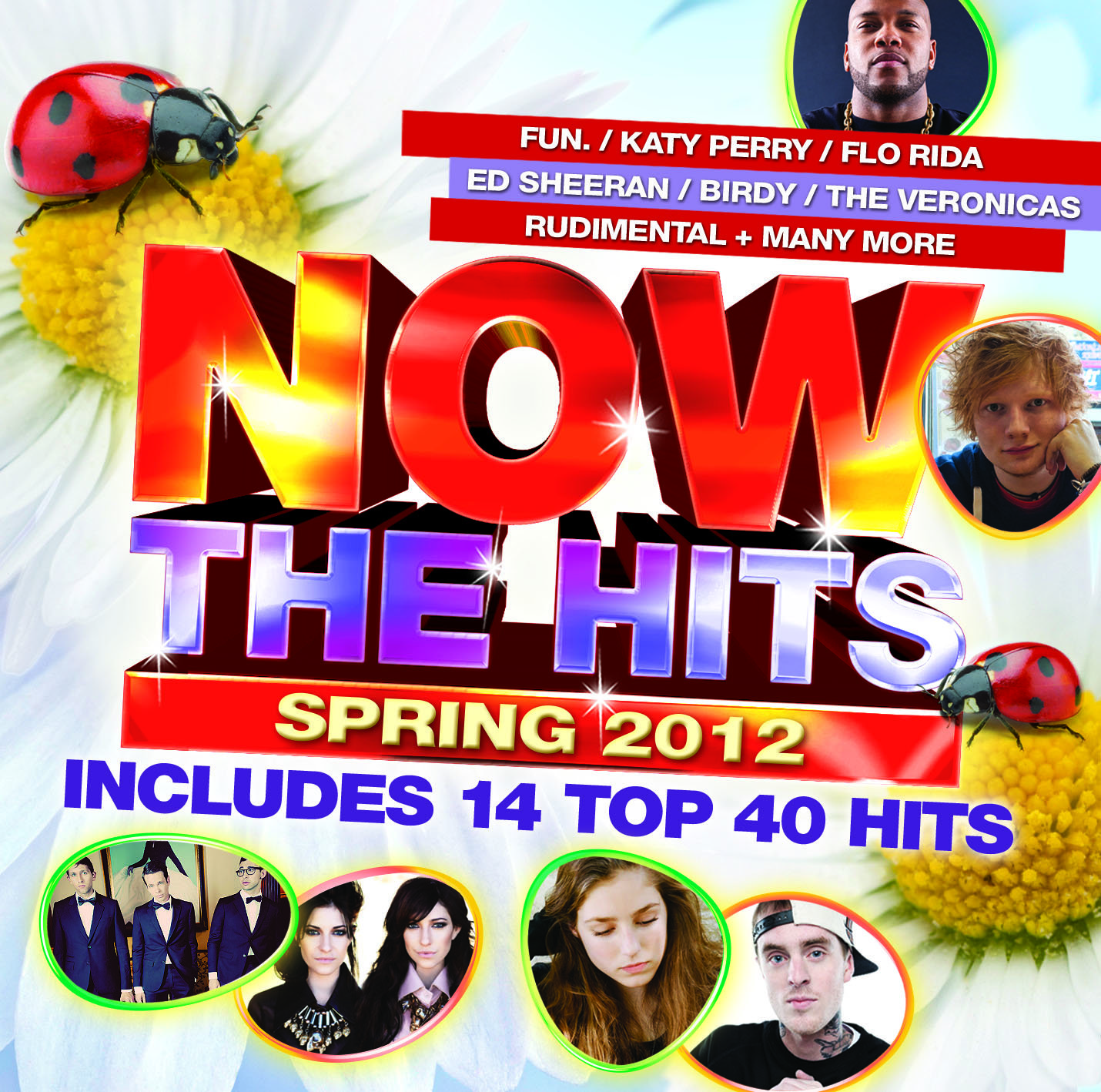 Now: The Hits Of Spring 2012