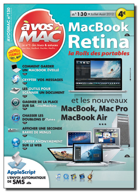 A Vos Mac N°130 - Juillet-Aout 2012  [New/SsTags/Multi]