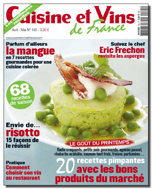Cuisine et Vins de France N°145 - Avril-Mai 2012 [NEW/SsTags/HQ/RG]