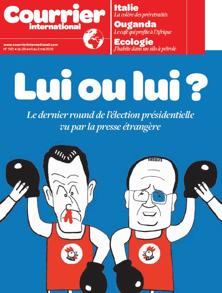 COURRIER INTERNATIONAL N°1121 du 26 avril au 2 mai 2012 [RG]