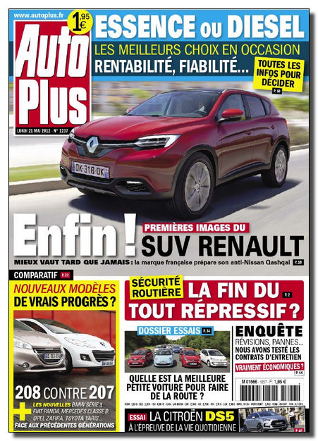 Auto Plus N°1237 - 21 au 27 Mai 2012 [NEW/SsTags/MULTI]