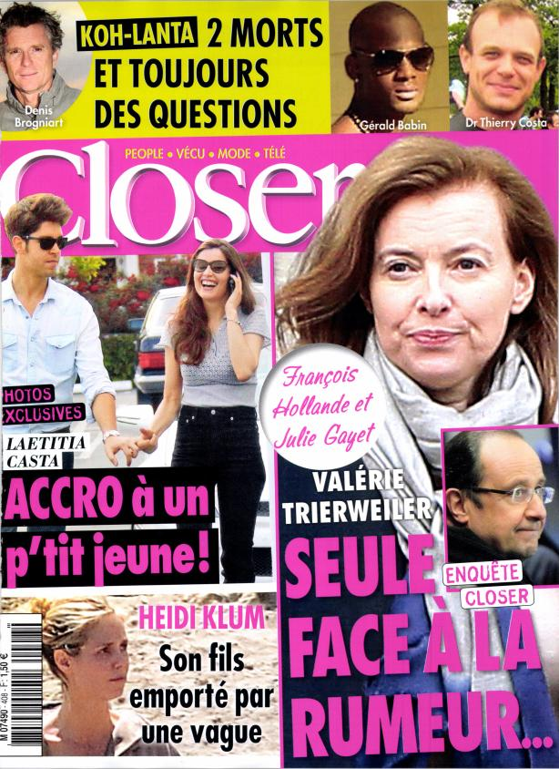 Closer N°408 - 6 au 12 Avril 2013 [Multi]