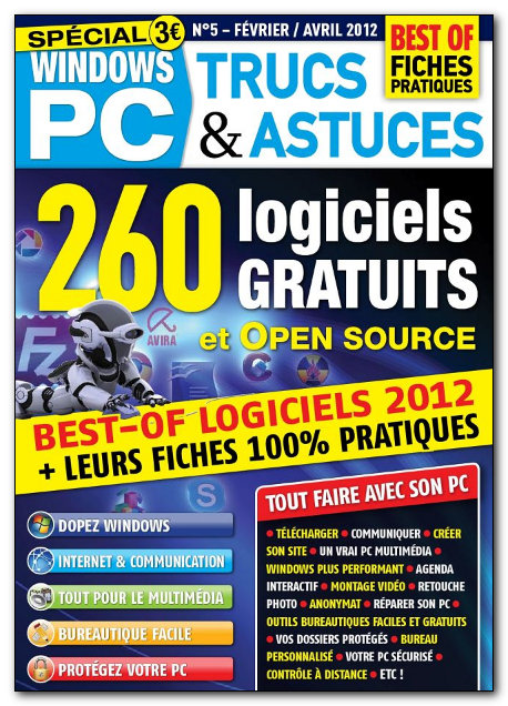 Windows PC Trucs & Astuces N°5 - Février - Avril 2012 [NEW/HQ/UL]