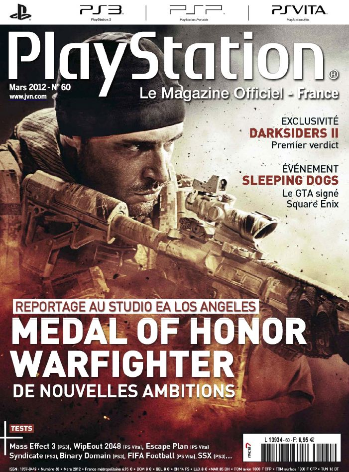 Playstation le Magazine Officiel 60 - Mars 2012 [RG]