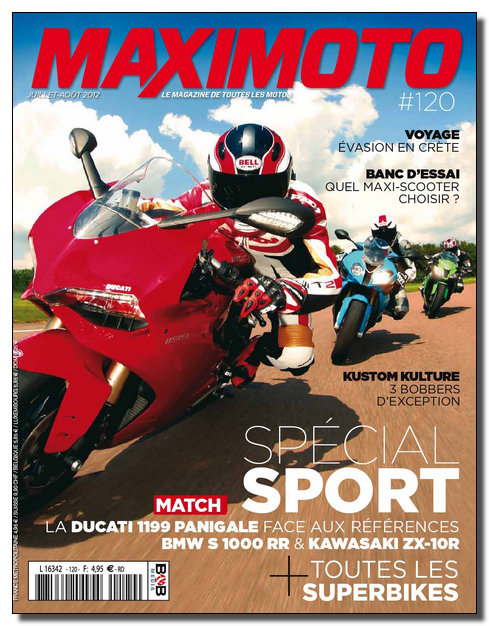 Maximoto N°120 - Juillet-Aout 2012 [New/Opti/SsTags/Multi]