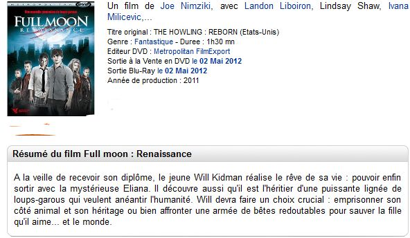 Full Moon Renaissance 2011 [PAL MULTi DVDR] [MULTi]