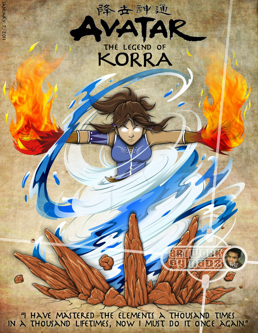 The Legend of Korra [Saison 01] [E01 a 12 VOSTFR] HD & HDTV