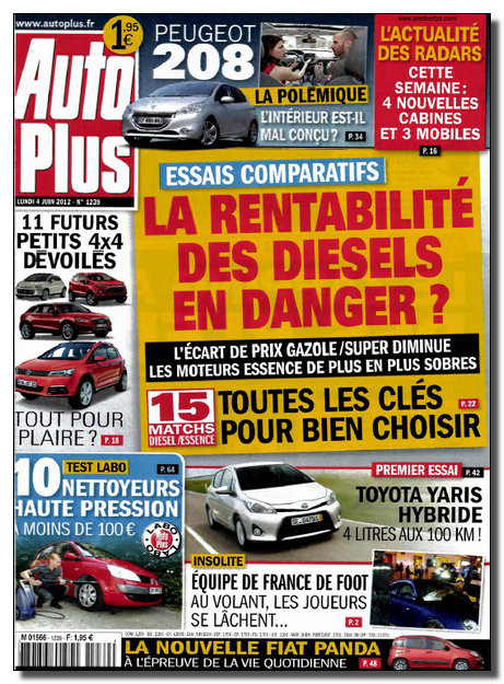Auto Plus N�1239 - 04 au 10 Juin 2012 [NEW/SsTags/MULTI]