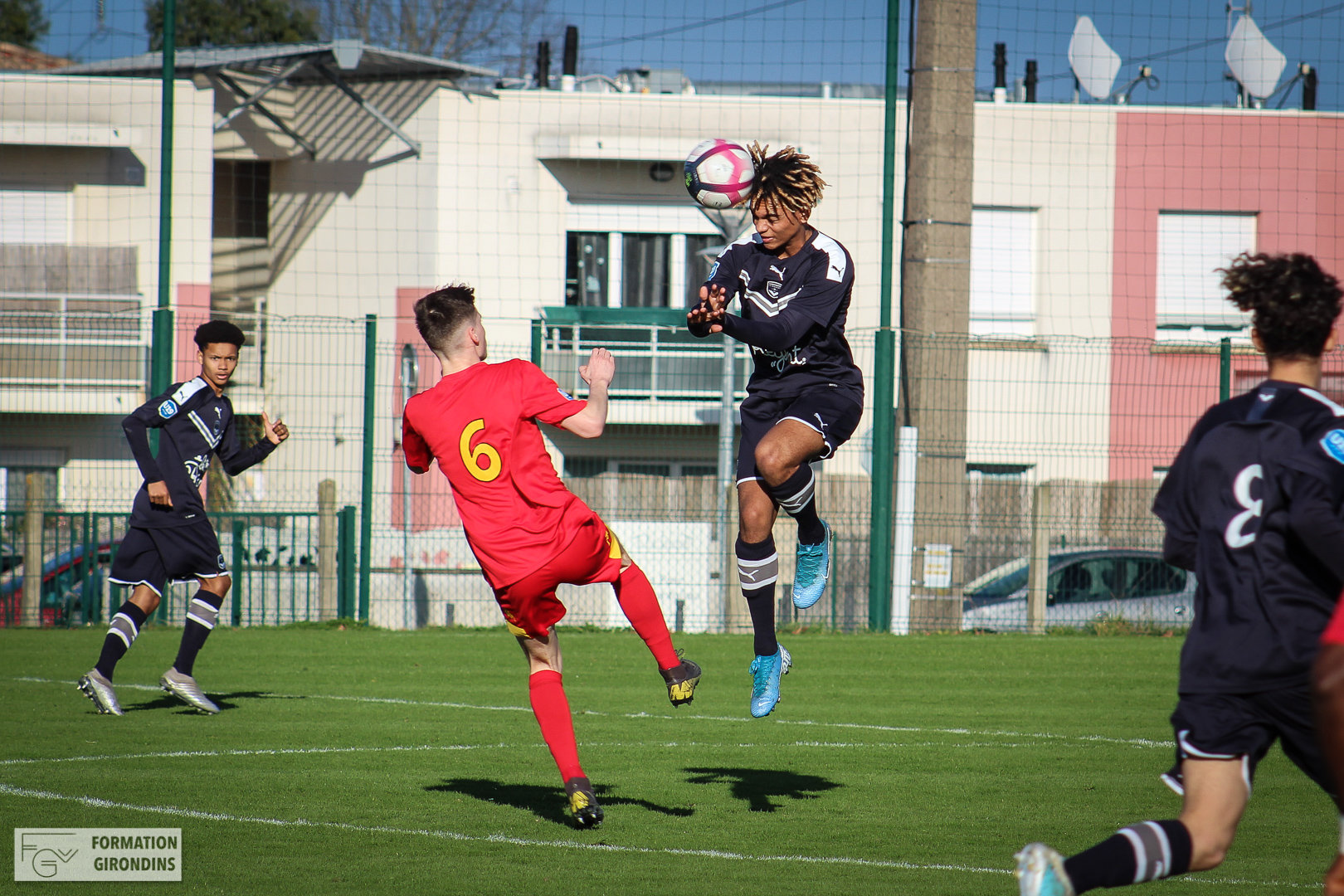 Cfa Girondins : Les photos de Bordeaux - Le Mans - Formation Girondins