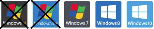 Compatible de Windows 7 à Windows 10