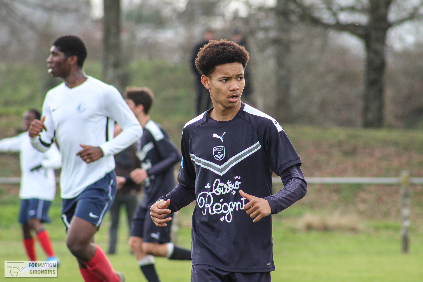 Cfa Girondins : Lenny Pirringuel forfait pour le rassemblement U16 - Formation Girondins