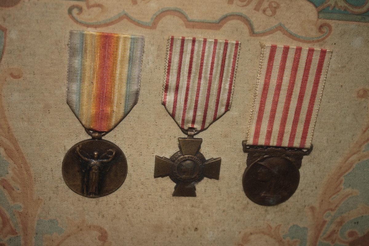 tableau de médaille 1914 pour estimation T10u