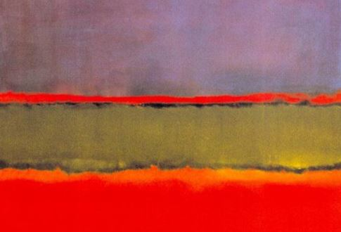 No. 6 (Violet, green and red) – Mark Rothko