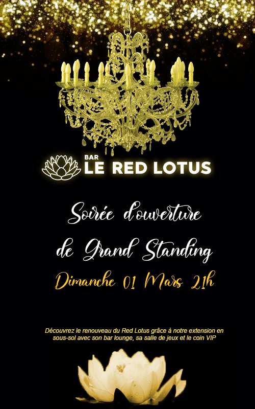 (EVENT) BAR RED LOTUS 01/03 - 21H Tit0
