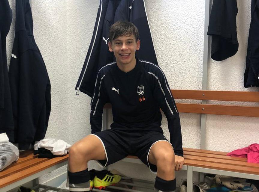 Actualités : Maximiliano Gay - « Nous avons été très bien accueillis par nos coéquipiers » - Formation Girondins