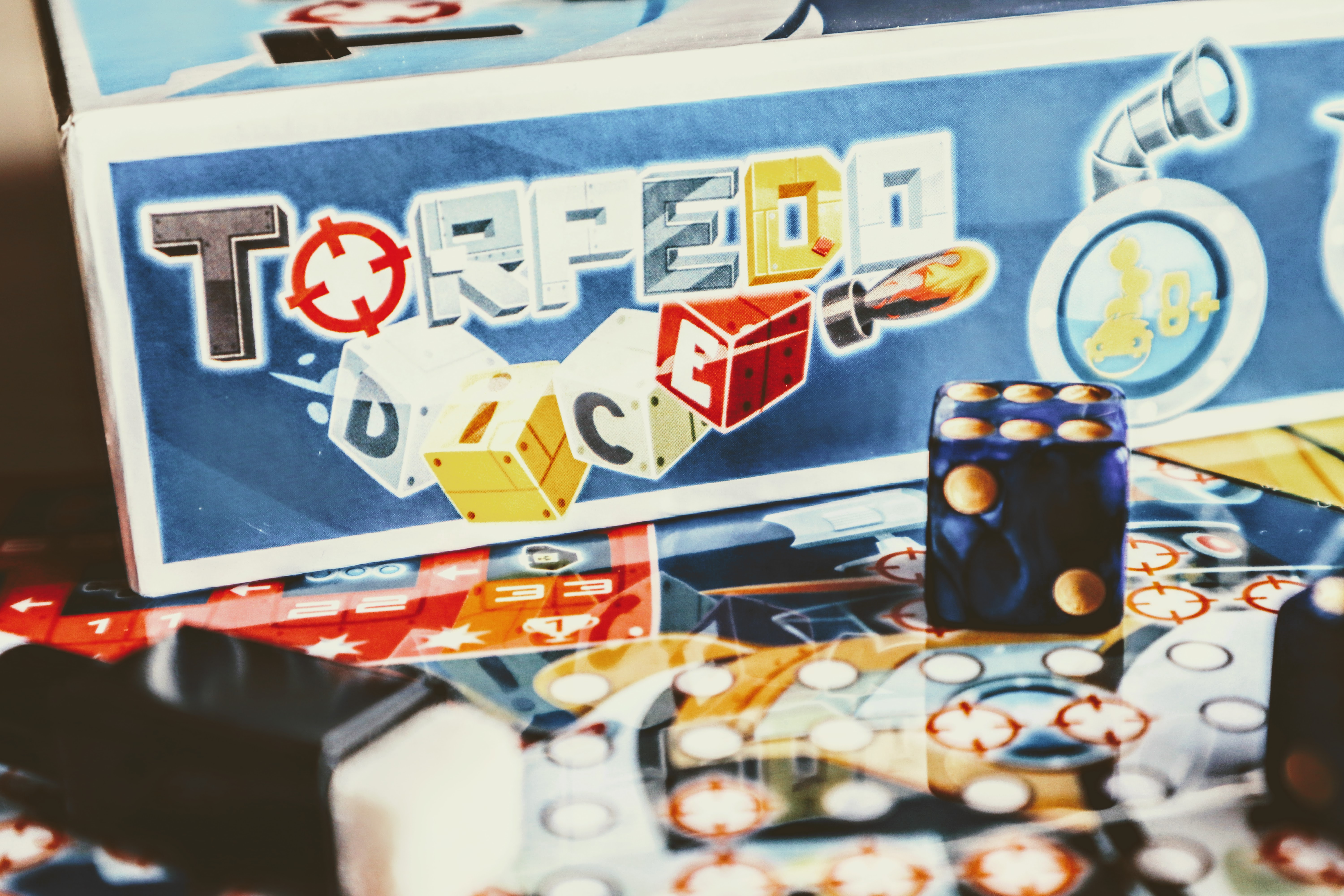 Torpedo Dice : Le roll & write très interactif