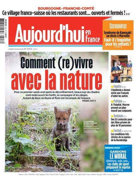 Aujourd'hui en France Du Samedi 16 Mai 2020