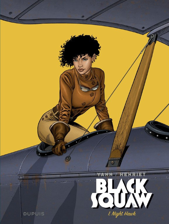 Black Squaw - Tome 1 - Night Hawk (2020)