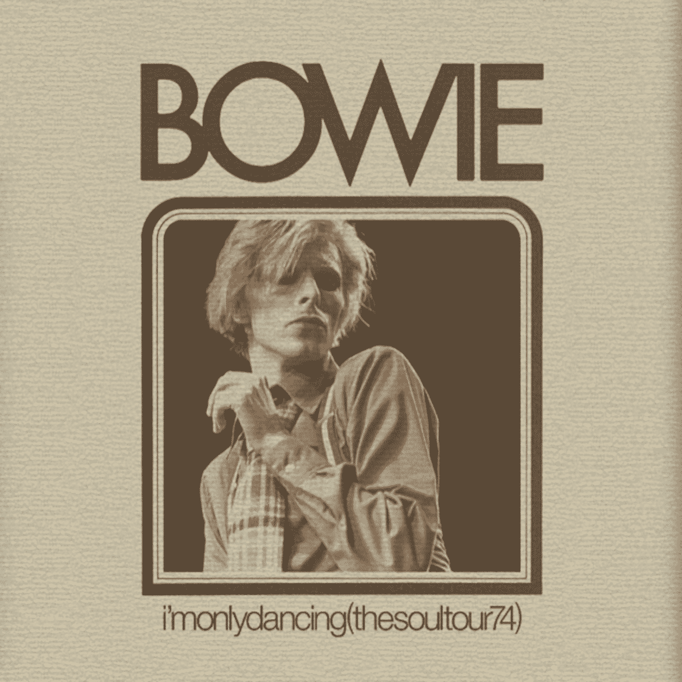 Bowie : I'm Only Dancing (The Soul Tour 74)