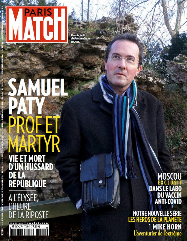 Paris Match N°3729 - 22 au 28 Octobre 2020