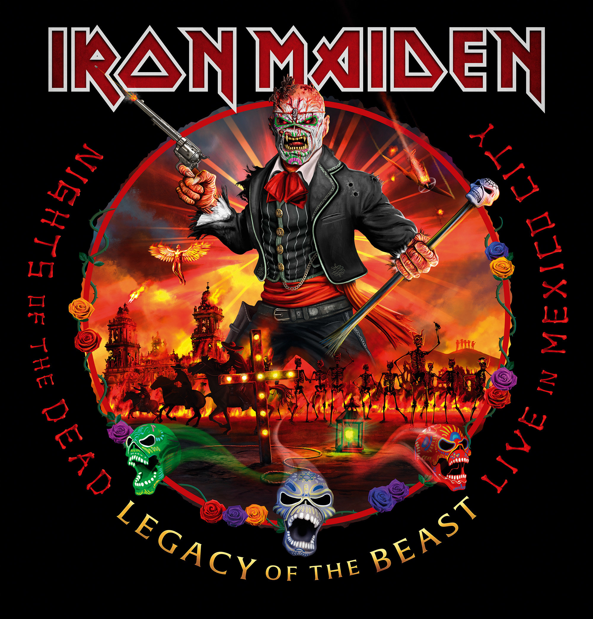 Agenda Culturel : IRON MAIDEN : Nights Of The Dead, Legacy Of The Beast : Live In Mexico City