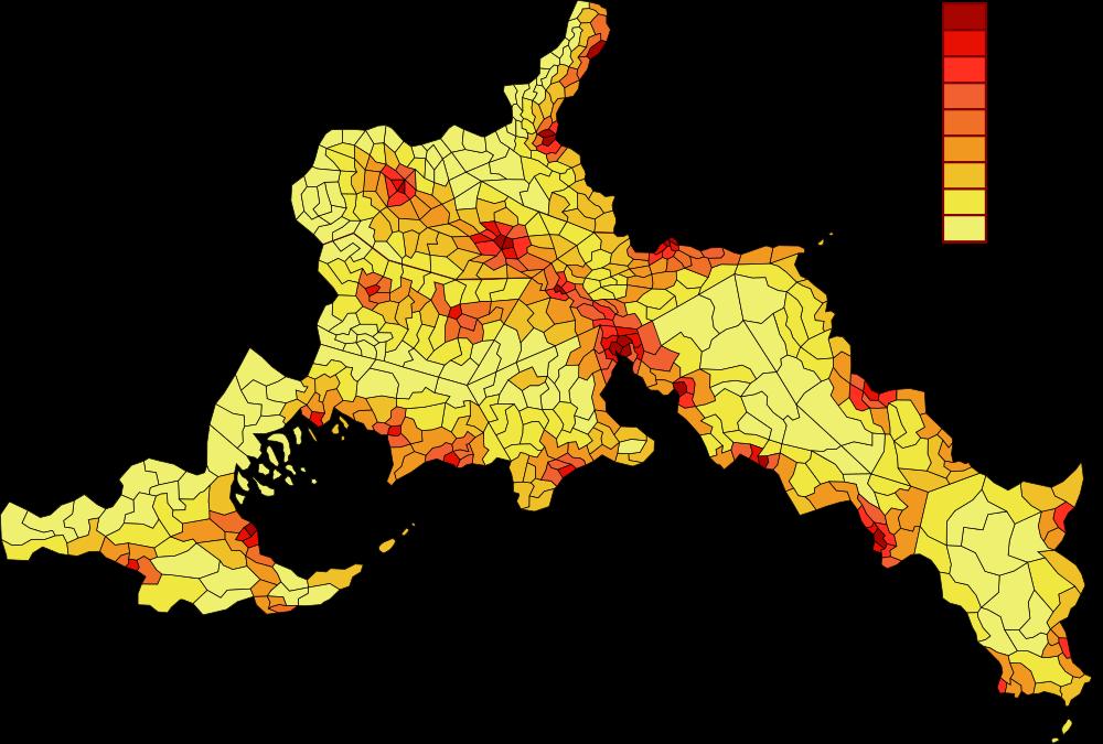 Densité de Population du Yuhanaca