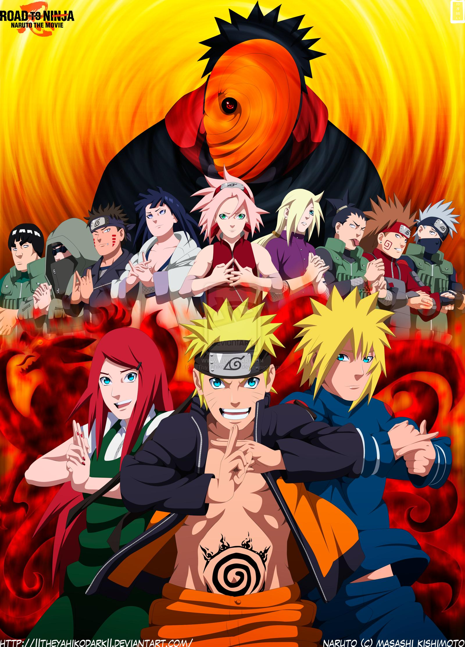 Road to Ninja: Naruto the Movie [DVDRip] TRUEFRENCH
