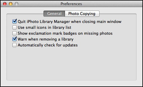 iPhoto Library Manager v4.1.4 (Mac OS X)