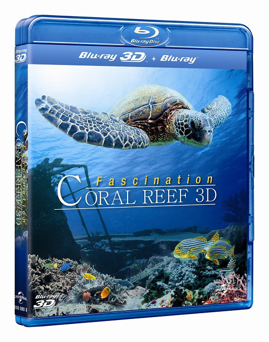 FASCINATION CORAL REEF 3D | Multi | Full Blu-Ray 3D + 2D