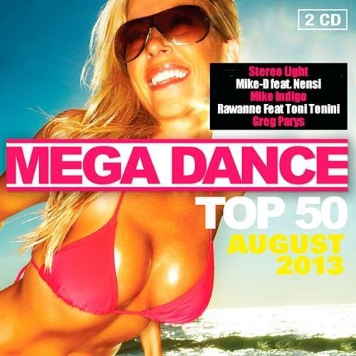 Mega Dance Top 50 August (2013) [Multi]