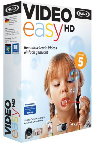 MAGIX Video Easy 5.0.0.99 HD + bonus Aout 2013 [FRENCH]