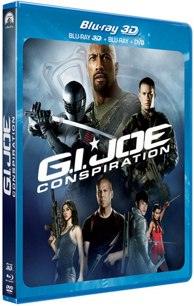 G.I. Joe : Conspiration | Multi | Blu-Ray 3D Over Under | 2013 | French | ReUp 10/09/2013