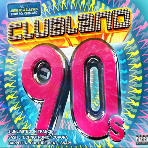 Clubland 90s (Continuos Mix) (2013) [Multi]