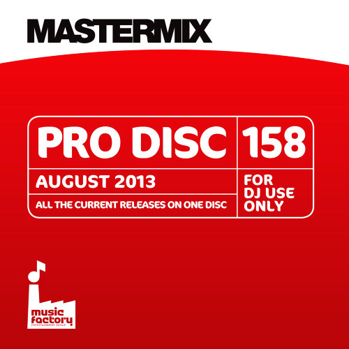 Mastermix - Pro Disc 158 August (2013) [Multi]