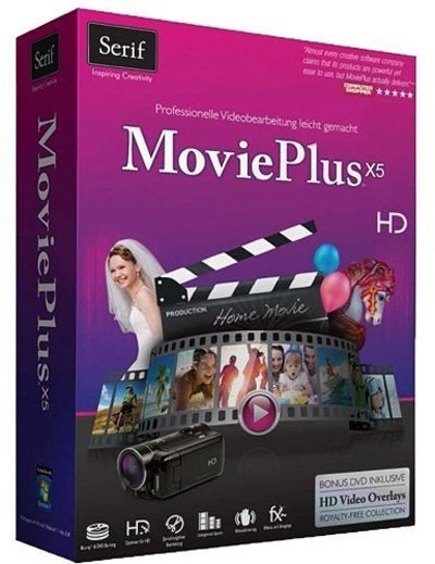 Serif MoviePlus X5 Starter Edition 1.0.0.6 + Key [Multi]