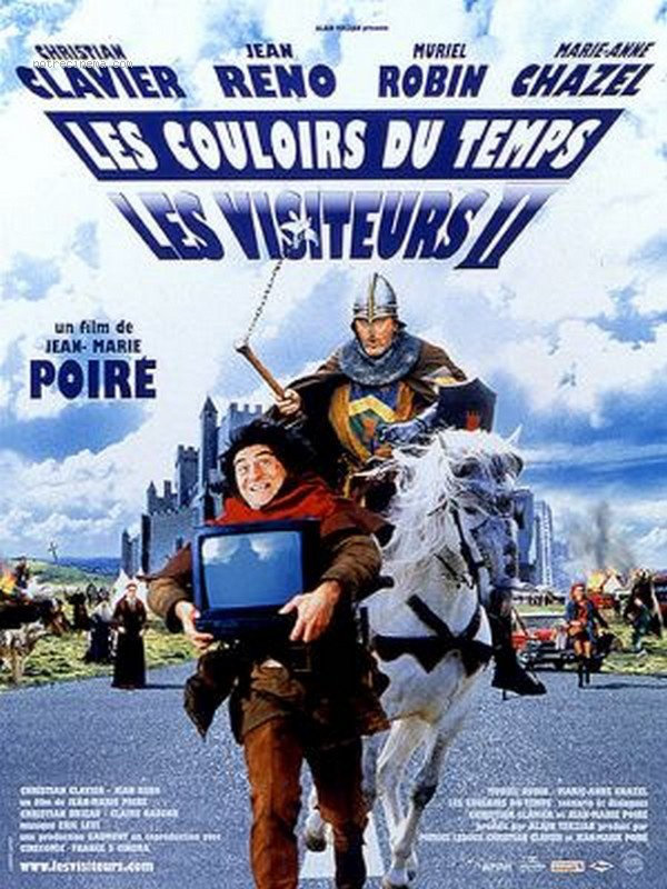 Les Visiteurs 2 : Les couloirs du temps | Multi | French | Blu-Ray 1080p