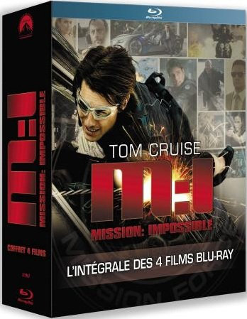 Mission Impossible : La Tetralogie | Multi | Blu-Ray 1080p