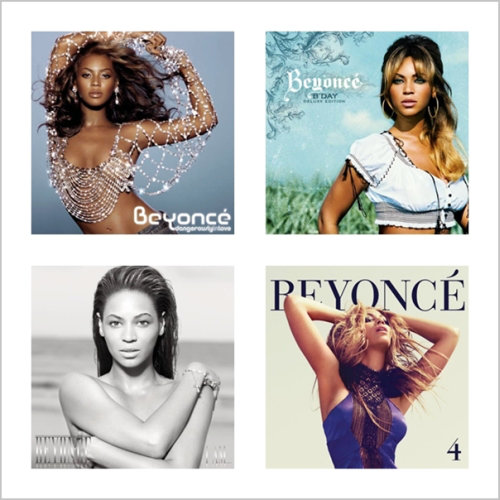Beyonce - Discography 4 (Deluxe Edition) (2013) [Multi]
