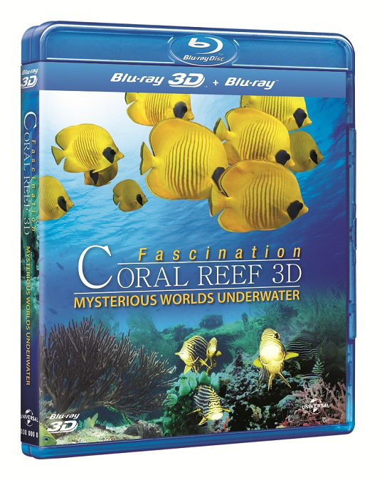 FASCINATION CORAL REEF MYSTERIOUS UNDERWATER | Multi | Full Blu-Ray 3D & 2D