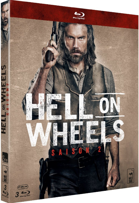 Hell On Wheels : l'Enfer de l'Ouest -Saison 03 | [EP 01 & 10/10] | FRENCH + Saison 01-02 BDRIP Complet