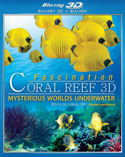 FASCINATION CORAL REEF MYSTERIOUS UNDERWATER | Multi | Truefrench |  Blu-Ray 3D SBS
