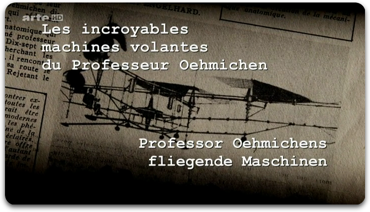 [MULTI] Les Incroyables Machines Volantes Du Professeur Oehmichen [FRENCH] [HDTV]
